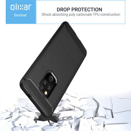 Olixar Sentinel Huawei Mate 20 X Case And Glass Screen Protector