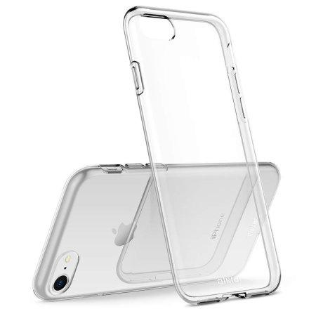Olixar Ultra-Thin iPhone 8 / 7 Gel Case - Crystal Clear