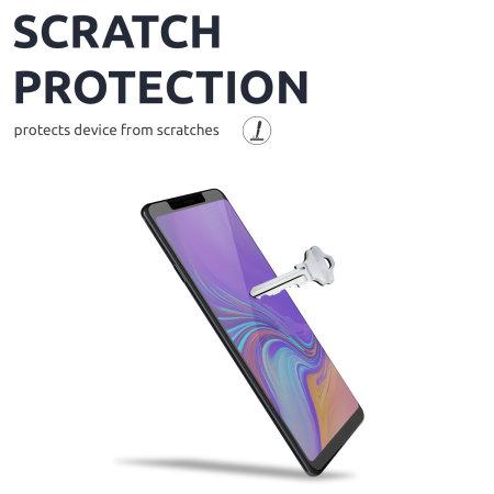 Olixar Samsung Galaxy A9 2018 Screen Protector 2-in-1 Pack