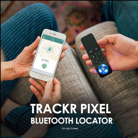 TrackR Pixel Bluetooth Tracker 3-Pack - Black/Red/Blue