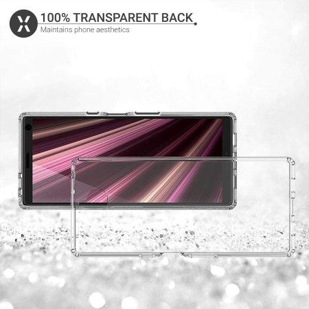 Olixar ExoShield Tough Snap-on Sony Xperia 10 Plus hülle - Klar