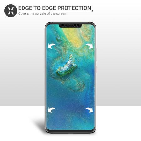 Protector Huawei Mate 20 Pro Olixar Termoplástico - Instalación húmeda