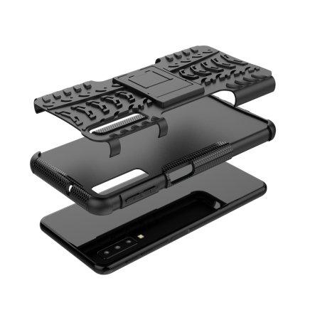 Olixar ArmourDillo Samsung Galaxy A7 2018 Protective Case - Black