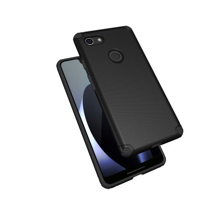 new style f499a a5bbe Olixar Magnus Google Pixel 3 XL Case and Magnetic Car Holder - Black