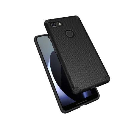 new style 39c88 bcb3d Olixar Magnus Google Pixel 3 XL Case and Magnetic Car Holder - Black