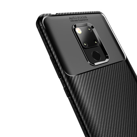 the best attitude 5b12e 3b894 Olixar Huawei Mate 20 X Carbon Fibre Case - Black