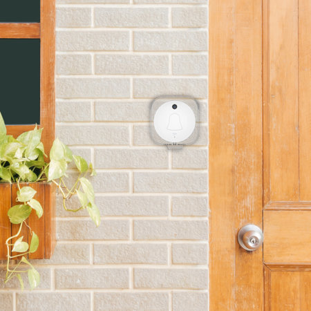 Eule Video Doorbell Wireless Smart Front Door Camera  - Black / White