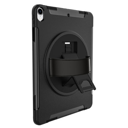 new product d8f77 db578 Olixar iPad Pro 12.9 2018 Rugged Case With Hand Strap - Black