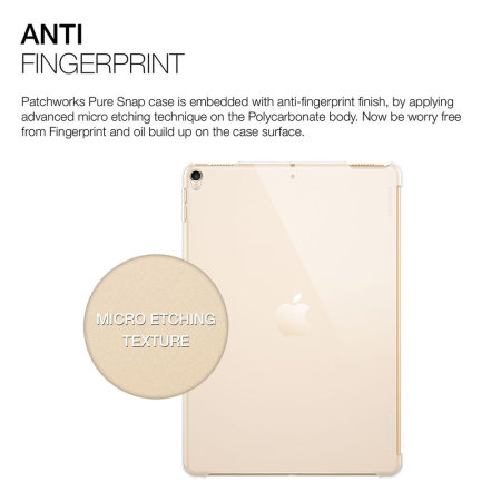 Patchworks Puresnap iPad Pro 11 Case - Clear