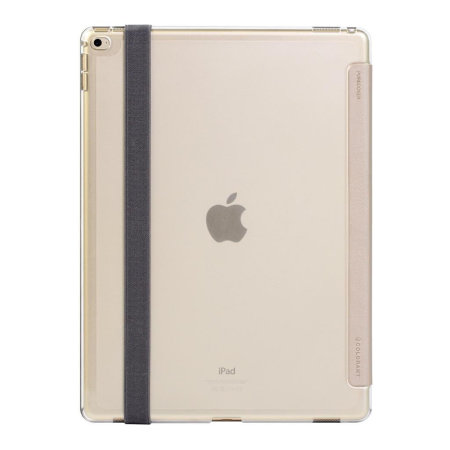 Patchworks PureCover iPad 11 Stand Case with Apple Pencil Pouch - Gold