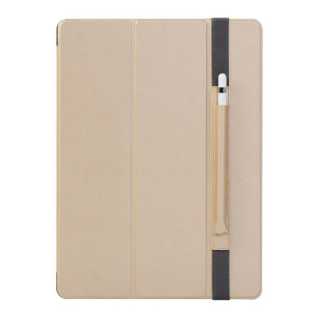 Patchworks PureCover iPad 12.9 2018 Case with Pencil Pouch - Gold