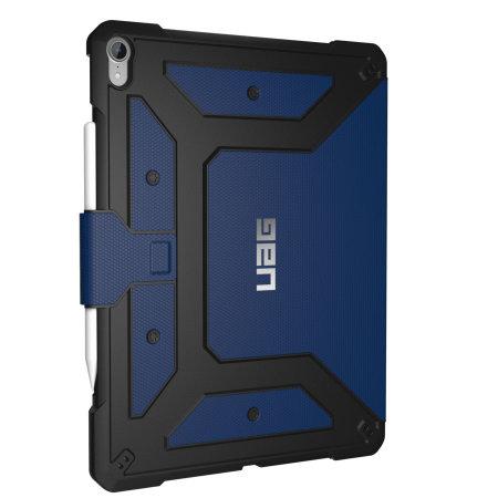 UAG Metropolis iPad Pro 12.9 3rd Generation - Flip Case - Cobalt
