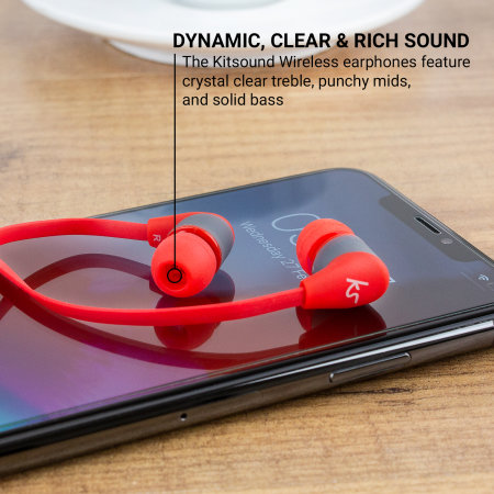 KitSound Bounce Wireless Sports Bluetooth Earphones