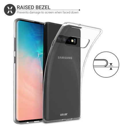 Olixar Ultra-Thin Samsung Galaxy S10 Case - 100% Clear