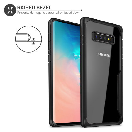 Olixar NovaShield Samsung Galaxy S10 Bumper Case - Black