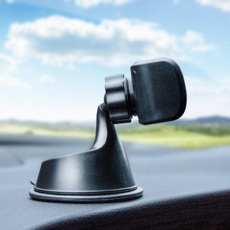 Support voiture Olixar TriMount – Pare-brise, tableau de bord, grille