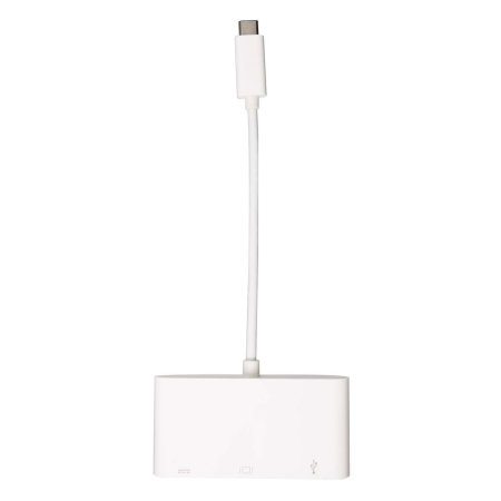 Techplus 3.1 USB To VGA F Cable With USB Port - White