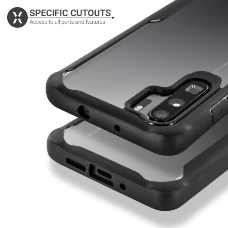 Olixar NovaShield Huawei P30 Pro Bumper Case - Black / Clear