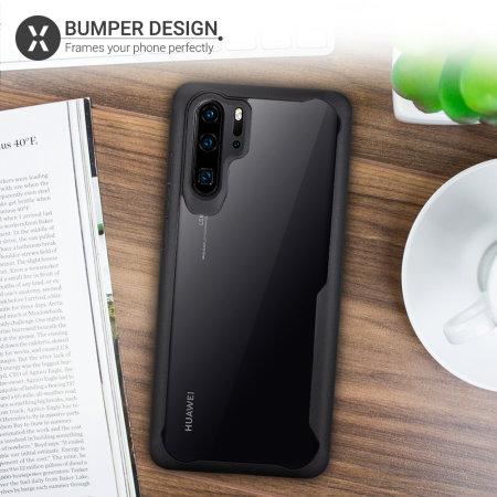 Coque Huawei P30 Pro Olixar NovaShield – Style bumper – Noir