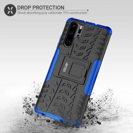 Olixar ArmourDillo Huawei P30 Pro Protective Case - Blue