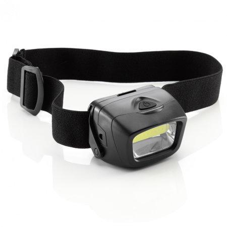 Auraglow Battery Operated Headlamp Torch - Crystal White Light