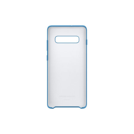 Official Samsung Galaxy S10 Plus Silicone Cover Case - Blue