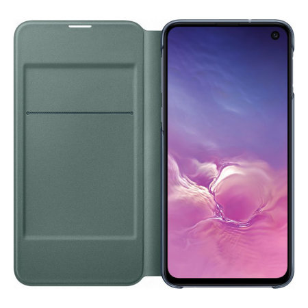 Official Samsung Galaxy S10e LED View Cover Case - Black