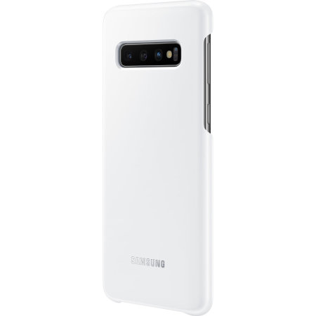 Official Samsung Galaxy S10 Plus LED Cover - White