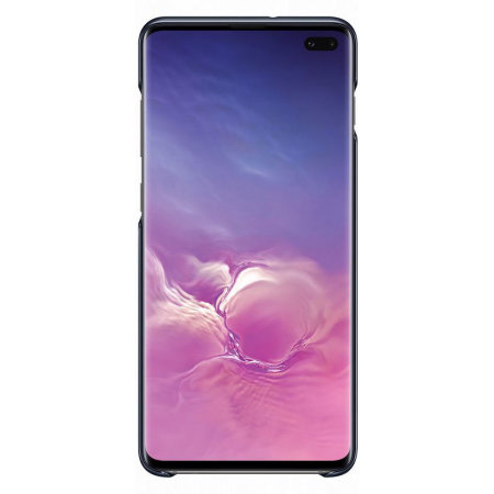 Official Samsung Galaxy S10 Plus LED Cover Case - Black