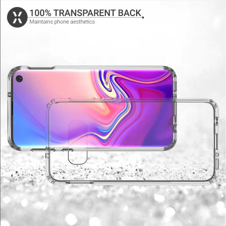 Olixar ExoShield Tough Snap-on Samsung Galaxy S10 Case - Clear