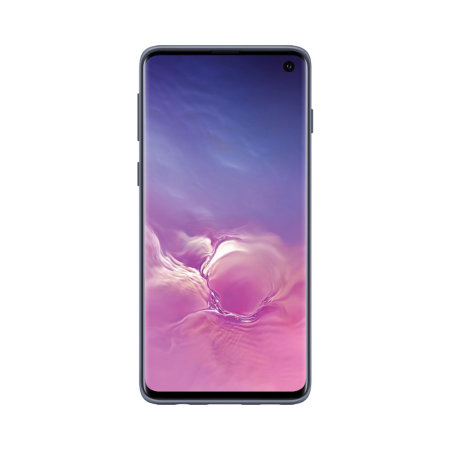 Official Samsung Galaxy S10 Protective Stand Cover Case - Dark Blue