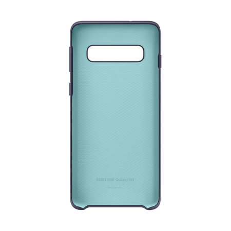 Official Samsung Galaxy S10 Silicone Cover Case - Navy