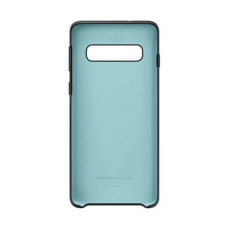 Official Samsung Galaxy S10 Silicone Cover Case - Black