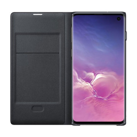 Official Samsung Galaxy S10 LED View Cover Case - Black
