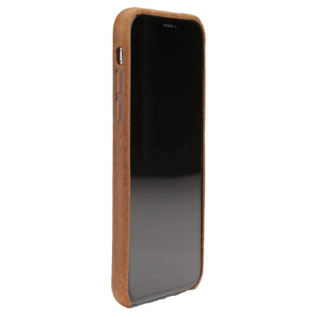 huge discount a1e18 98327 Nodus Shell Case II for iPhone XS Max - Chestnut Brown