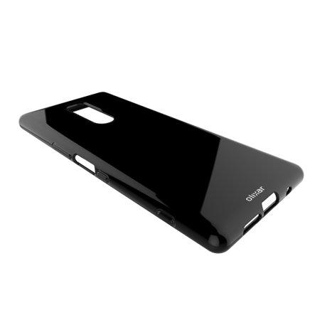 Olixar FlexiShield Sony Xperia 1 Case - Black