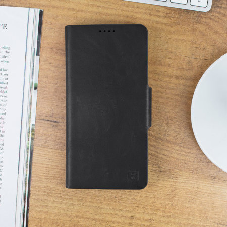 Funda Samsung Galaxy S10 Plus Olixar Estilo Cuero Tipo Cartera - Negra