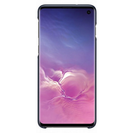 Official Samsung Galaxy S10 LED Cover Case - Black