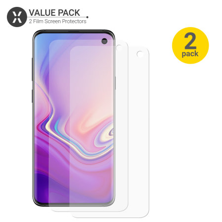 Olixar Samsung Galaxy S10e Film Screen Protector 2-in-1 Pack