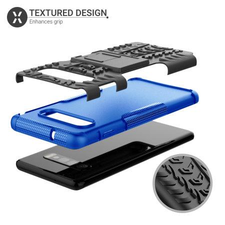 Olixar ArmourDillo Samsung Galaxy S10 Plus Protective Case - Blue