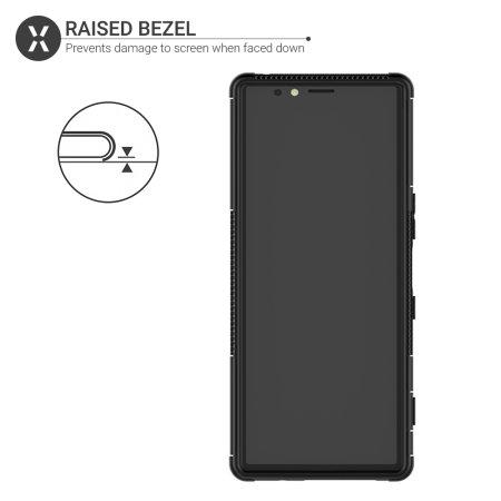 Olixar ArmourDillo Sony Xperia 1 Hülle in Schwarz