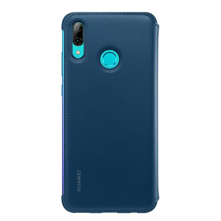 Offizielle Huawei P Smart 2019 Wallet Hülle - Blau