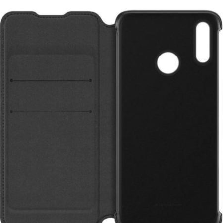 Official Huawei P Smart 2019 Wallet Cover Case - Black