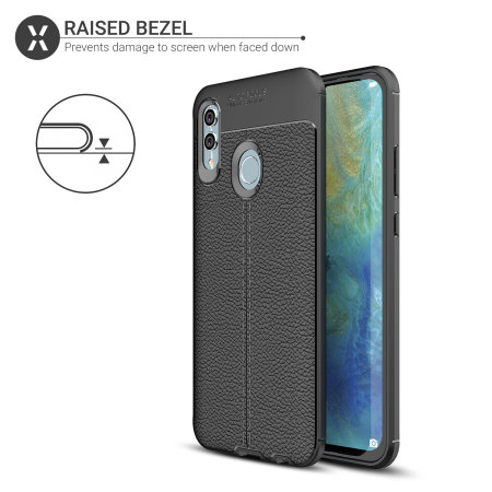 Olixar Attache Huawei Honor 10 Lite Leather-Style Case - Black