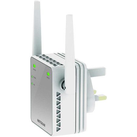 Amplificador de alcance WiFi Netgear N300