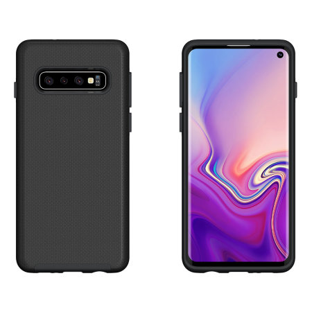 Eiger North Samsung Galaxy S10 Dual Layer Protective Case - Black