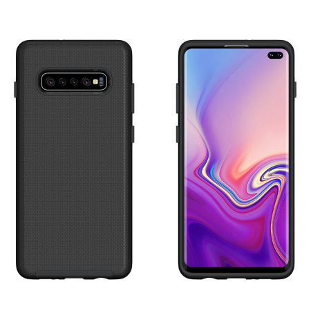 Eiger North Samsung Galaxy S10 Plus Dual Layer Protective Case - Black