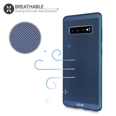 Olixar MeshTex Samsung Galaxy S10 Plus Case - Blue