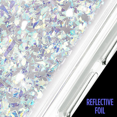 Case-Mate Samsung Galaxy S10e Waterfall Glow Glitter Case - Gold