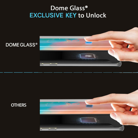 Whitestone Dome Glass Samsung S10e Full Cover Screen Protector